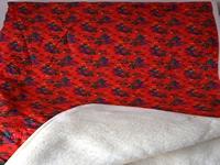 Tybet czerwony 210x200cm